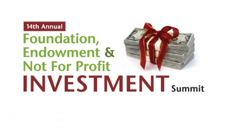 Foundations, Endowment & Not for Profit Investment Summit