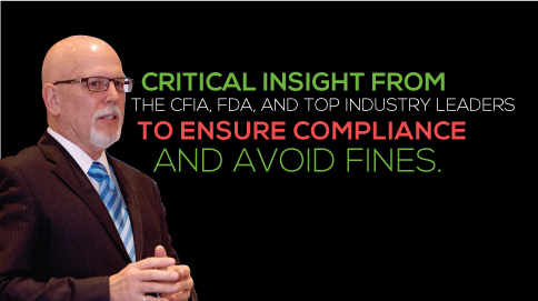 Critical insight from the CFIA, FDA, and top industries to ensure compliance and avoid fines.