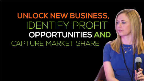 Unlock new business, identify profit opportunities and capture market share.